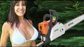 Stihl Chainsaw for 50 year old Farm Girl