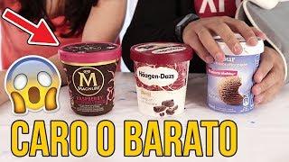 Helado CARO vs BARATO