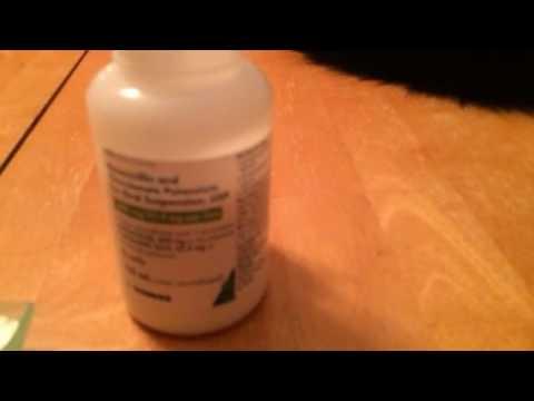 Oral Syringe How To Use A Syringe For Medicine - Amoxicillin / Clavulanate (Augmentin)