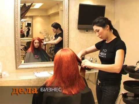 Салон красоты «Максим» (программа «Дела» 27.11.2009)