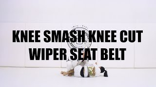 KNEE SMASH KNEE CUT WIPER SEAT BELT