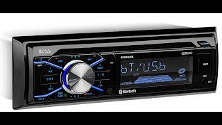 BOSS Audio 508UAB Single Din, Bluetooth,  Wireless Remote | Car Audio Review