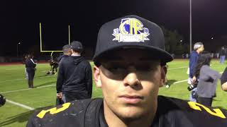Wilcox's Paul M. Rosa talks about the Chargers' state championship win