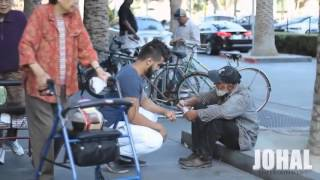 """Социальный эксперемент """"Помогая бездомным""""  by Johal"""