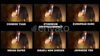 Wolrd Currencies Symbols - Download After Effects Templates Project Files