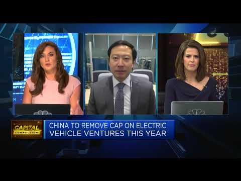 China to remove cap on electric vehicle ventures this year | Middle East News