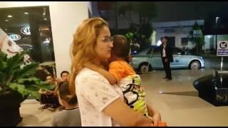 Video Gempa Surabaya, Penghuni Hotel Panik