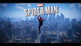 Marvel's Spider Man Alpha Footage Web-Swinging (PS4)