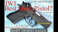 IWI Baby Desert Eagle II Range Day Recap