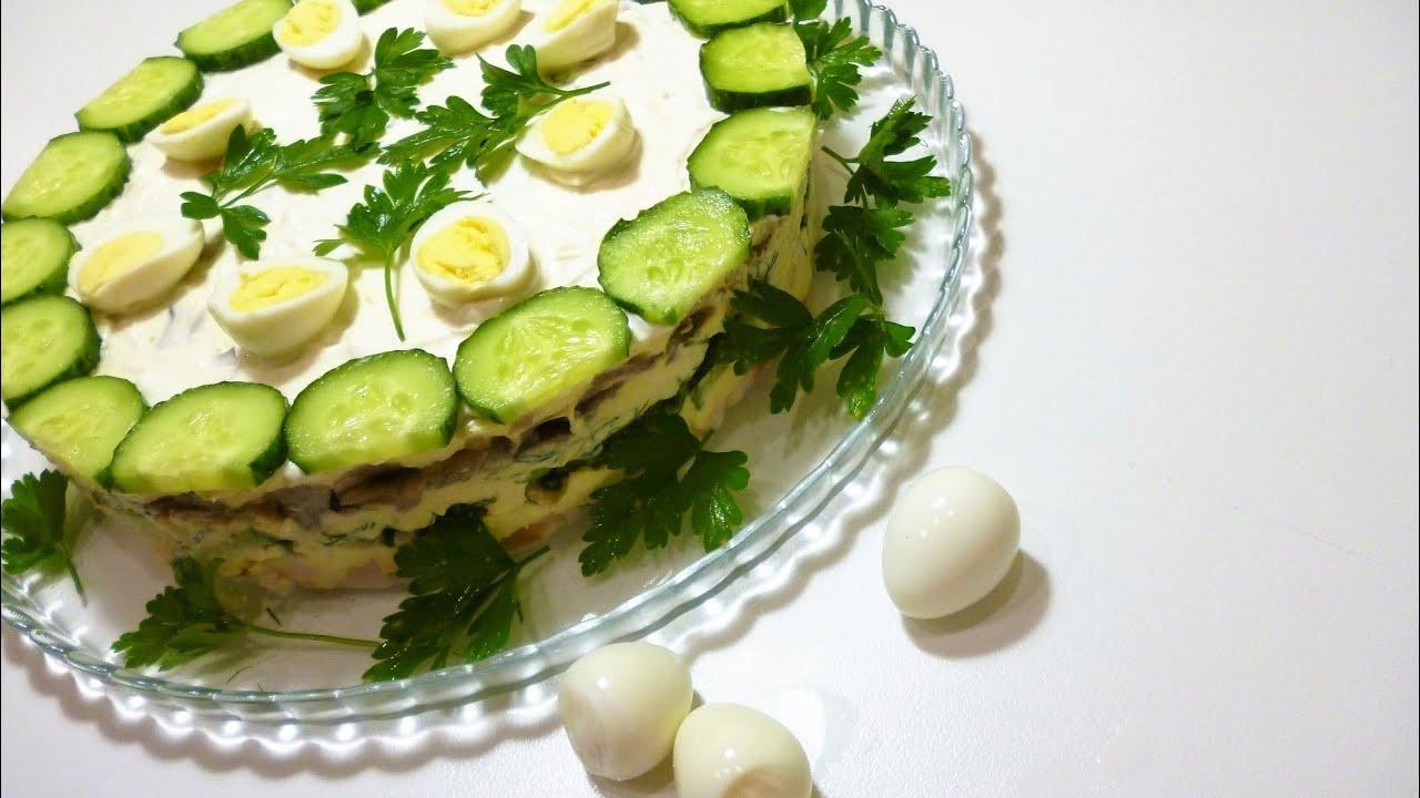 рецепт курочка ряба салат