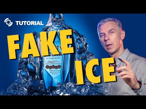 How to make Fake Ice