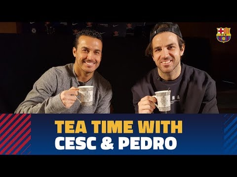We speak with Cesc and Pedro before Chelsea-Barça