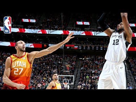 Spurs vs Jazz | Full Game Recap: Gobert & Aldridge Duel In Utah