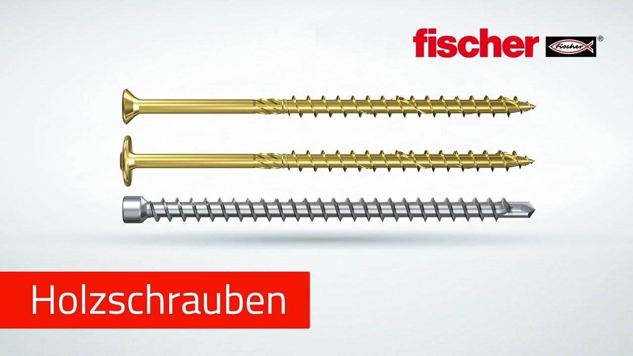 Holzbauschrauben fischer Power-Full & fischer Power-Fast ...