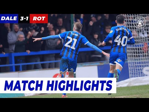 Rochdale Rotherham Goals And Highlights