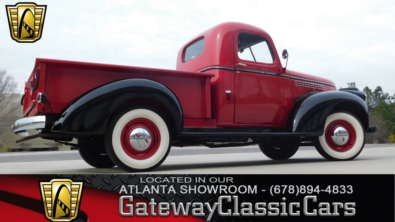 1946 Chevrolet 1/2 Ton Pick-Up - Gateway Classic Cars of Atlanta ...