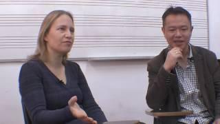 中国指挥音乐台.yi-an-xu orchestra conductor. זוג שהם מנצחי תיזמורות.טליה אילן, אי אן שו.קיסריה על הגל
