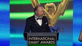 2018 International Emmy® Best Performance by an Actor Winner Lars Mikkelsen in Herrens Veje (Ride Up