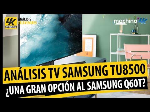Analisis TV 4K Samsung TU8500 Crystal UHD ¿Mejor opción que la Q60T precio/calidad este 2020?