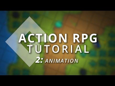 GameMaker Studio 2: Action RPG Tutorial (Part 2: Animation)