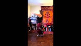 Sacred Shimmy Tribal Bellydance ATS® Drills - Advanced Combo 9/2014