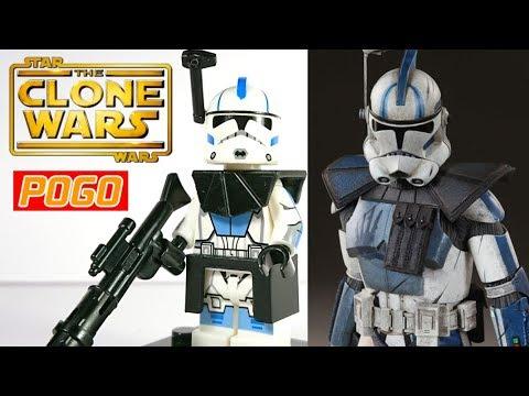 Custom CLONE COMMANDO TECH Backpack for Star Wars Minifigures Clones