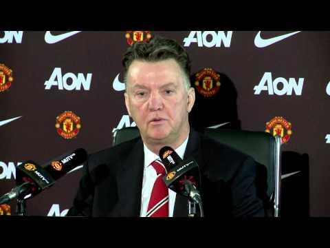 Louis van Gaal on Darren Fletcher leaving Man United & Cambridge FA Cup tie