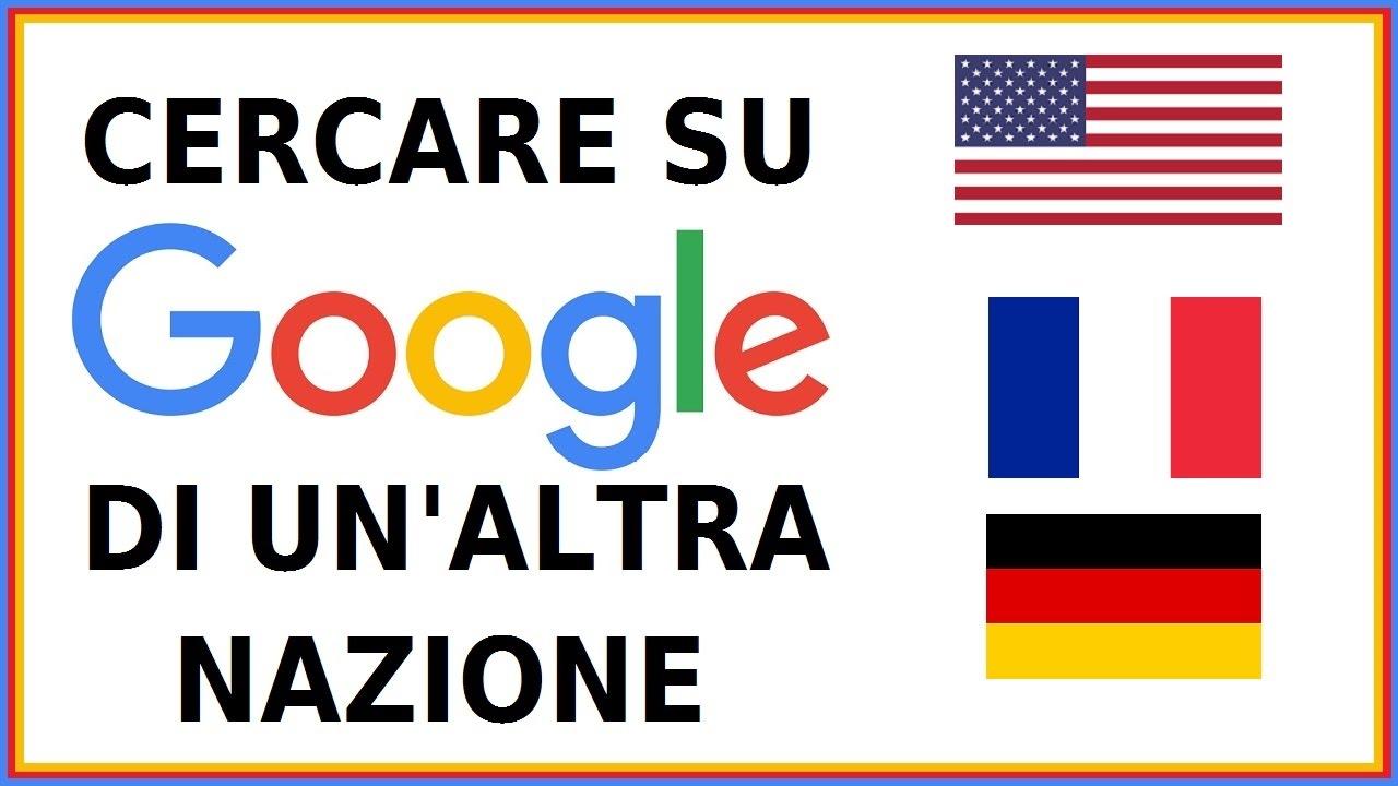 Come Modificare Località di Ricerca su Google