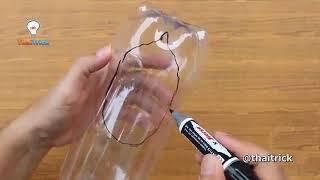 38 ide kreatif dengan botol bekas