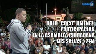 """Julio """"Coco"""" Jiménez Participación Asamblea Ciudadana #27M…"""