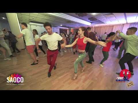 Sergey Gazaryan And Svetlana Levchenko Salsa Dancing At 3 Front Relax In Hotel Don-Plaza, 03.08.2019