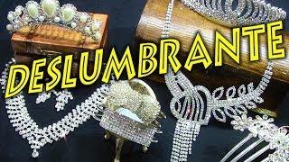 Coronas de diamantes para peinados de bodas y fiestas  joyas para el pelo accesorios de cabello