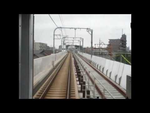 【前面展望】近鉄名古屋線・山田線◆急行(近鉄名古屋→松阪) Kintetsunagoya Line, Yamada Line ◆ express (nagoya → Matsusaka)