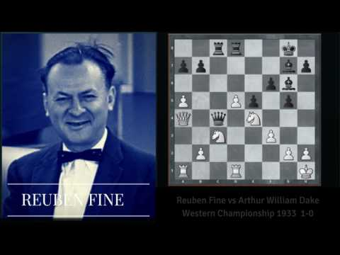 reuben fine vs dake Western Championship 1933