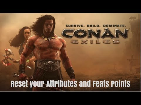 Conan Exiles.How To Reset Your Attributes And Feats Point