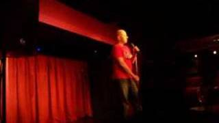 Darren Brinkworth Live Stand Up Comedy. Shark jokes and a garden joke.