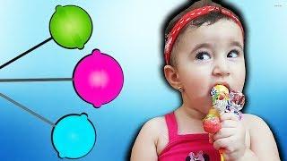 Celina And Hasouna Lollipop for kids | Playing with Dolls |  - العاب للاطفال باربي