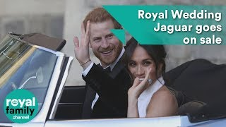 Prince Harry and Meghan's Royal Wedding Jaguar goes on sale