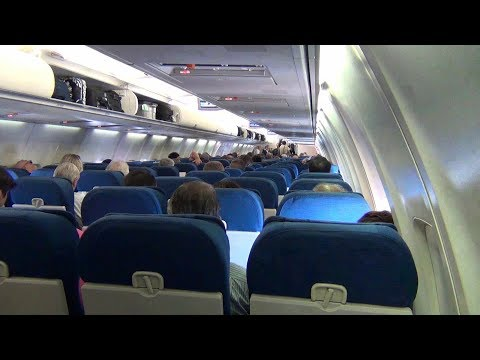 (HD) United B752 from ORD to IAH (Chicago to Houston)--Plane Trip Video