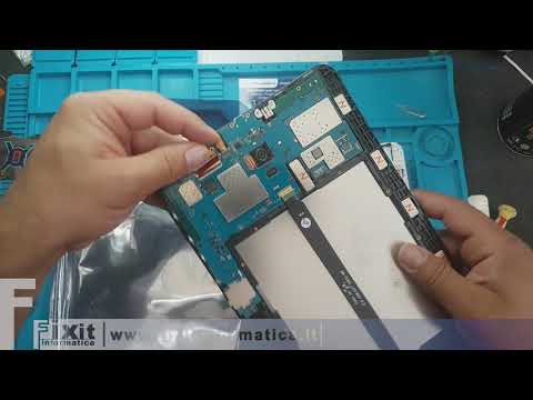 Samsung SM-T585 Tab A (2016) (10.1) Sostituzione display - Display Replacement