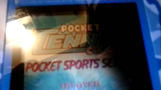 Neo Geo Pocket-Pocket Tennis Color Intro Demo 1999