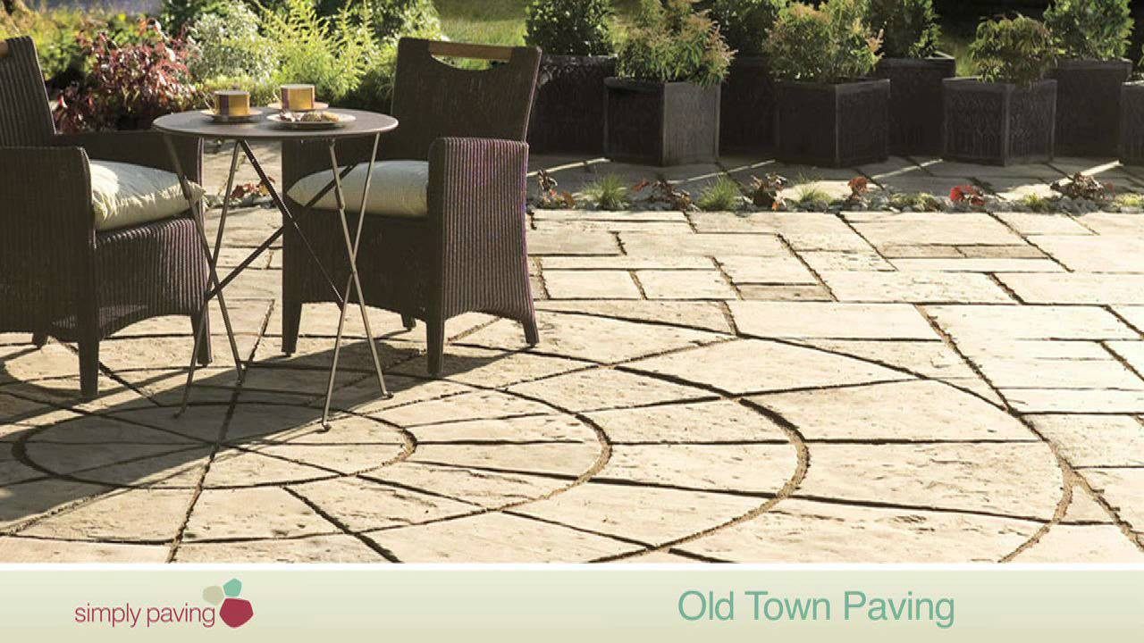 stoneflair by bradstone old town paving youtube. Black Bedroom Furniture Sets. Home Design Ideas