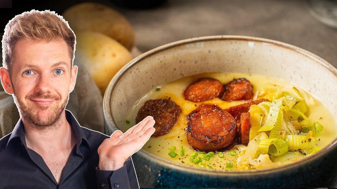 Die Geheimzutat für Kartoffelsuppe! (Besser als bei Oma)