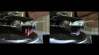 Comparison between ORTOFON 2M Red & AUDIO-TECHNICA AT440MLa