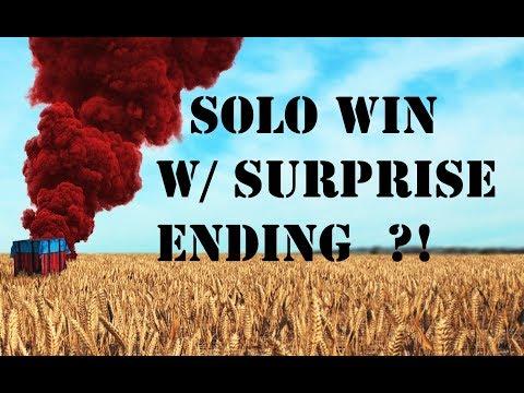 PUBG - Solo Win, Crazy Ending