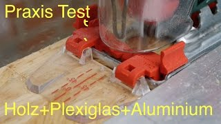 Bosch Stichsäge PST 8000 PEL Praxis Test