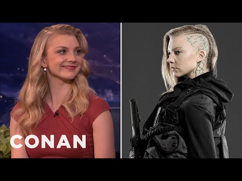 "Natalie Dormer On Training For ""The Hunger Games: Mockingjay""  - CONAN on TBS"