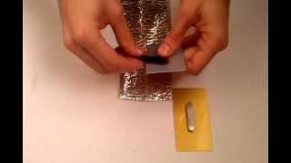 видео Бейдж металлический на магните