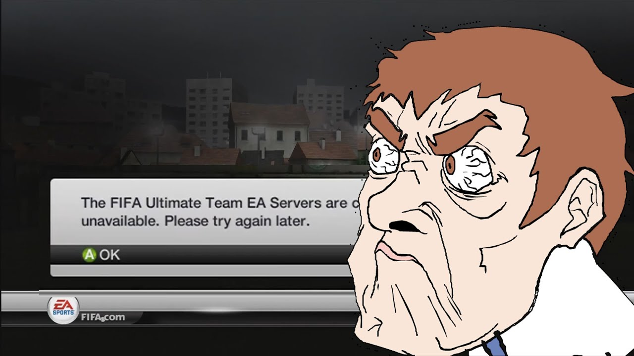 Fifa 12 Ultimate Team EA Servers Are Currently Unavailable