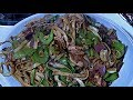 Chinese Noodle Stir Fry  (Chicken And Vegetables Noodles Wok Stir Fry)